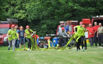Pohárová soutěž požárních družstev v Šunychlu 11.06.2016