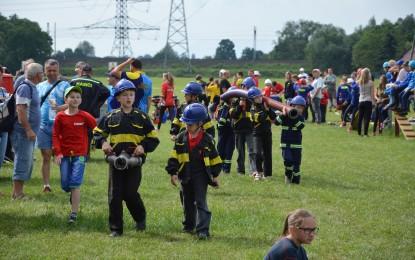 Soutěž mladých hasičů v Závadě 12.06.2016