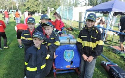 Soutěž mladých hasičů ve Vrbici 11.09.2016