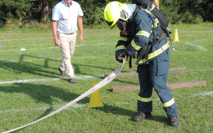 Soutěž nositelů dýchací techniky v Gorzycích 11.09.2016