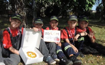 Soutěž mladých hasičů v Havířově 01.10.2016