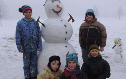 Zimní radovánky mladých hasičů Kopytov 03.02.2017