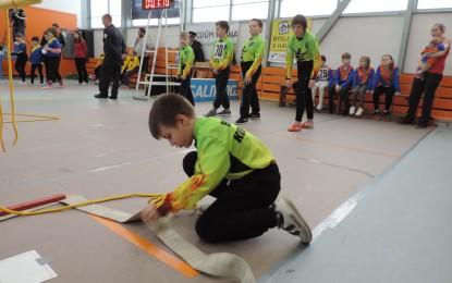 Halová soutěž mladých hasičů Havířov